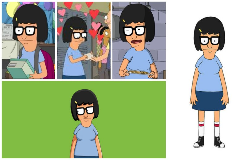 Tina Belcher Collage